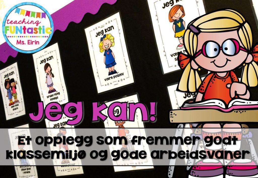 Plakater med klasseromsregler som fremmer godt klassemiljø. Display til skolestart