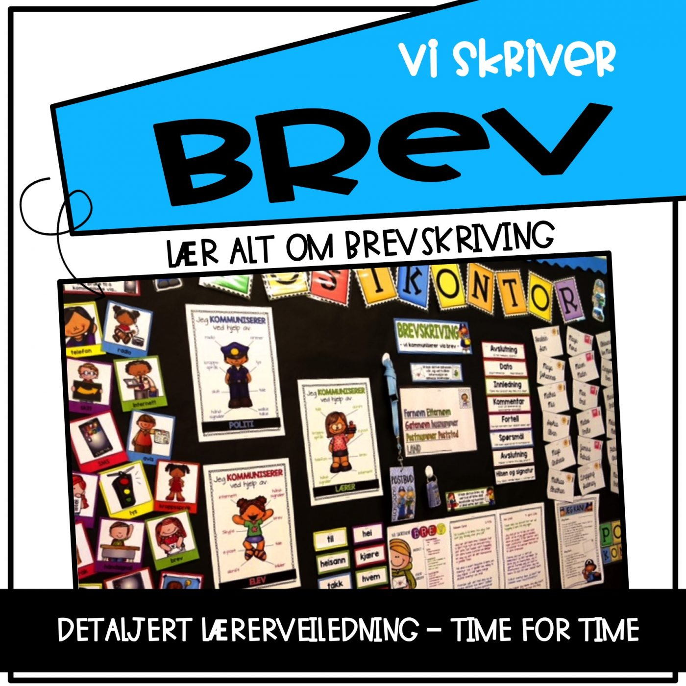 2feaef87 Vi skriver... Brev! - Teaching Funtastic