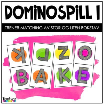 Dominospill alfabetspill