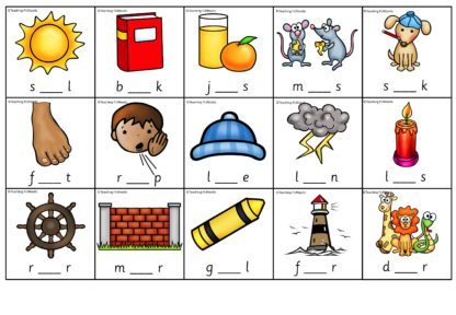 Vokalmatter og spill med de norske vokalene. Lytt ut vokaler i ord, finn vokalen. Stasjonsoppgave og spill.