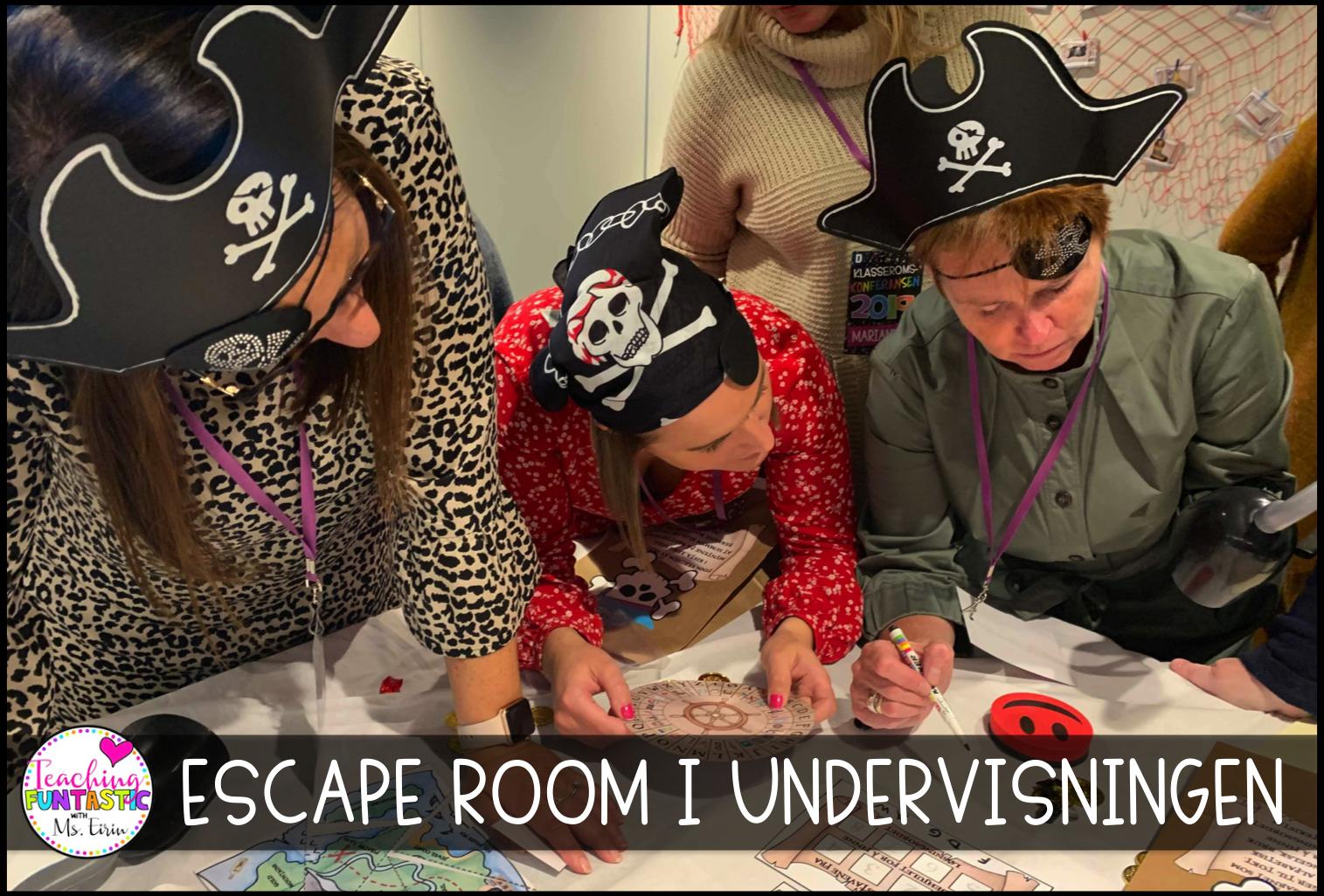 Kurs Escape Room Teaching FUNtastic