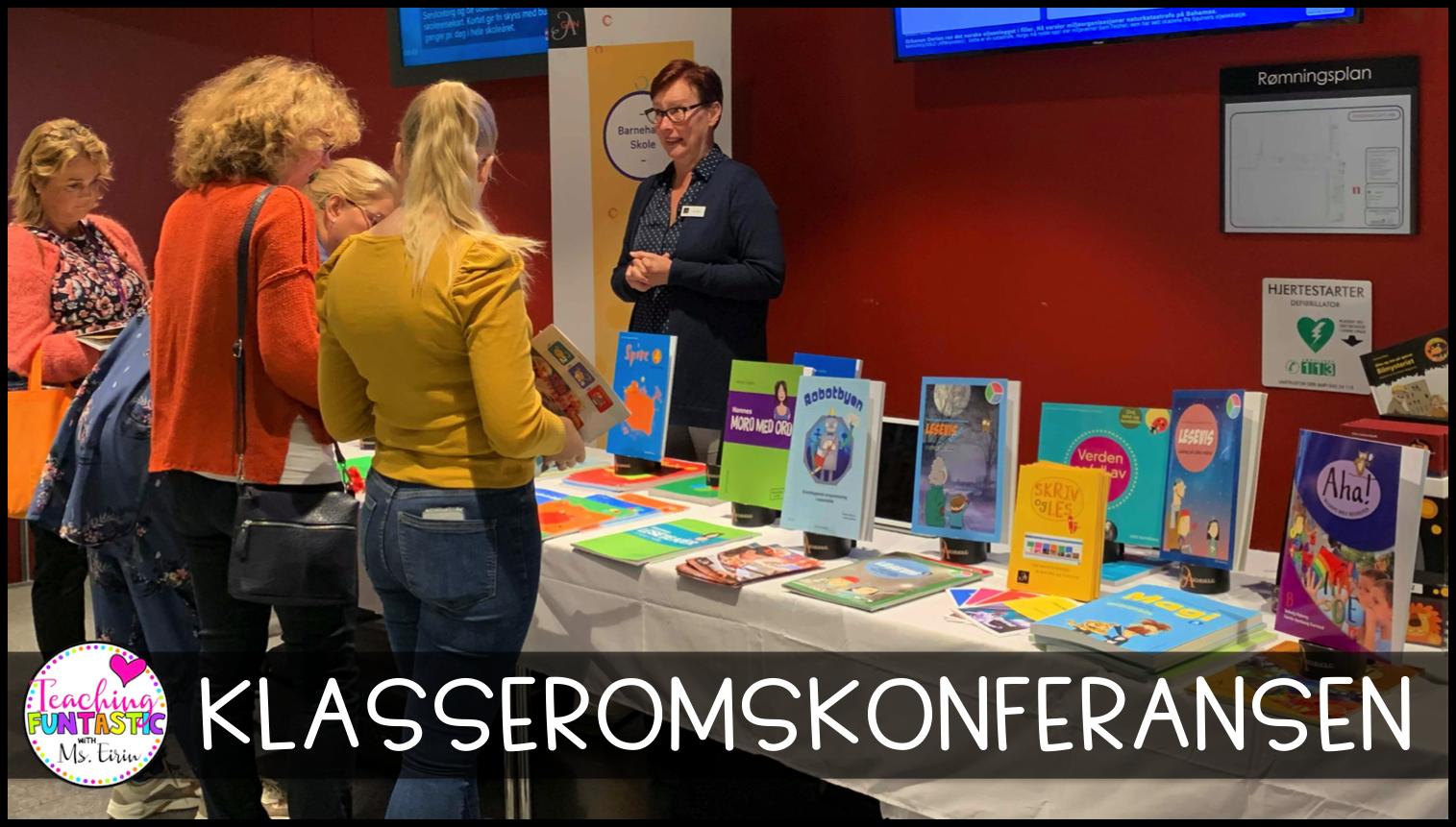 Utstillere Lærerkonferanse i Arendal