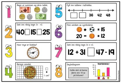 Repetisjon matematikk