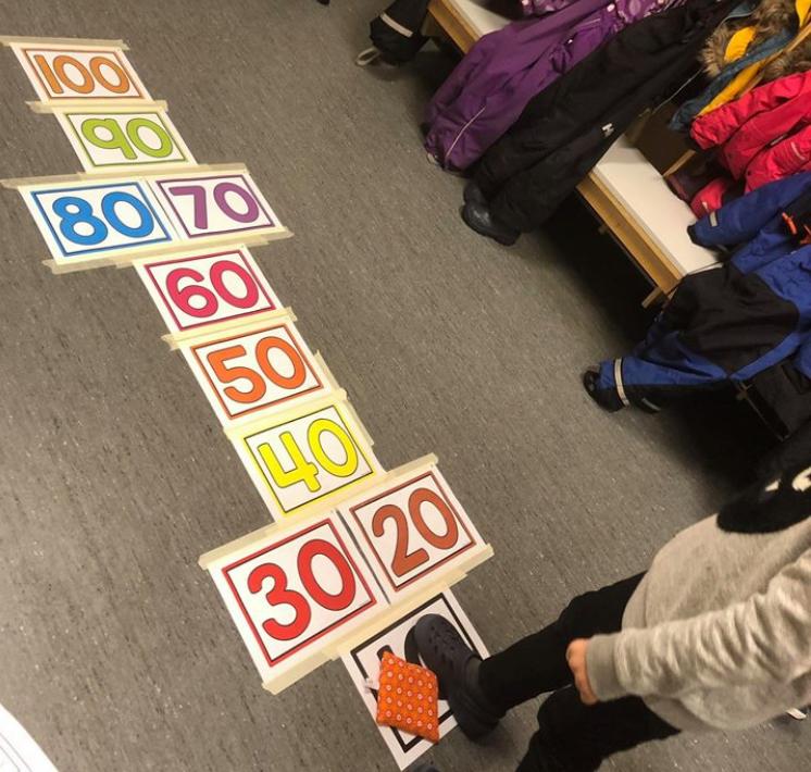 100 skoledager paradis