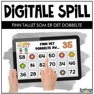 Digitale spill det dobbelte tall