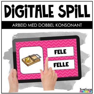 Digitale spill dobbel konsonant