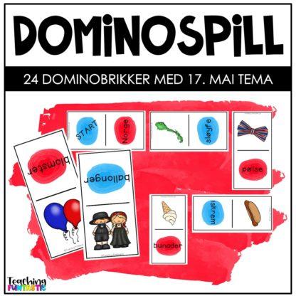 Dominospill 17 mai