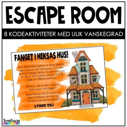 Escape room i undervisningen Halloween