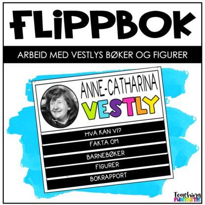 Flippbok oppgaver om Anne Cath