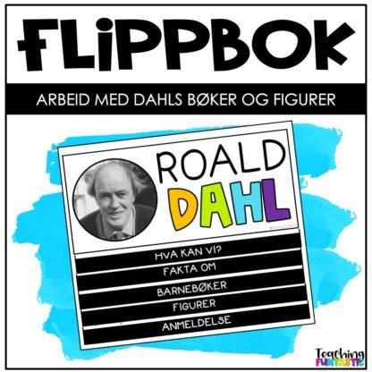 Flippbok oppgaver om Roald Dahl