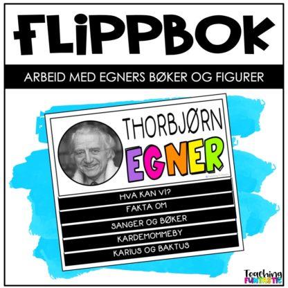 Flippbok oppgaver om Thorbjørn Egner