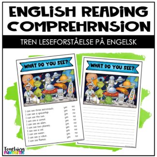 Leseforståelse engelske setninger