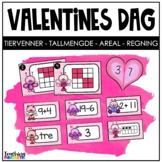 Matematikkoppgaver Valentine