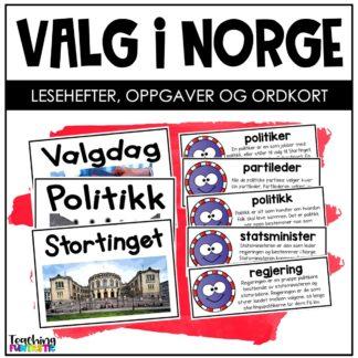 Oppgaver om valget i Norge