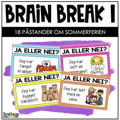 Pauseaktivitet skole Brain break 1