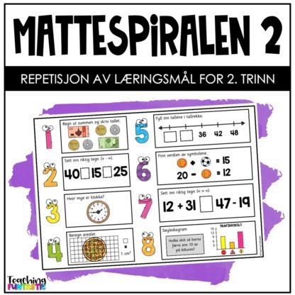 Repetisjon matematikk 2.trinn