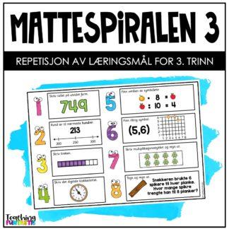 Repetisjon matematikk 3.trinn