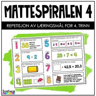Repetisjon matematikk 4.trinn