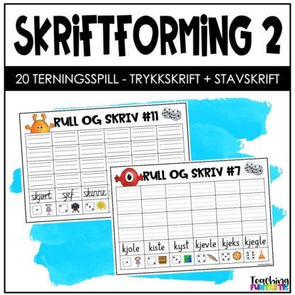 Skriftforming og finskriftoppgaver 2