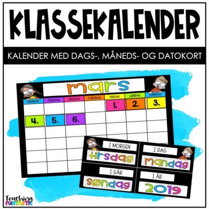 Stor klassekalender