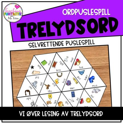 Puslespill Trelydsord