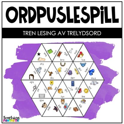Puslespill lesing trelydsord