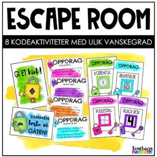 Escape room i undervisningen påske