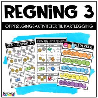 Kartlegging og oppgaver regning 3 trinn