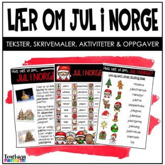 Lær om jul i Norge