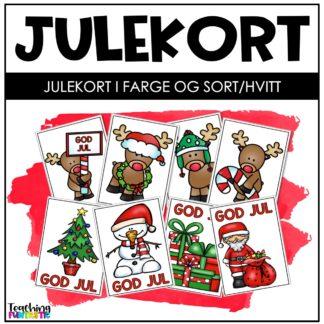 Lag egne julekort