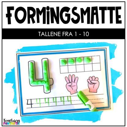 Oppgaver forme og skrive tallene