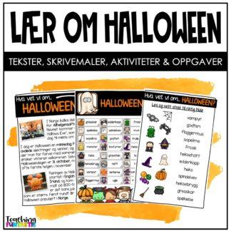 Oppgaver til Halloween
