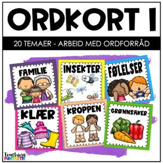 Ordkort norsk