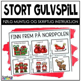 Spill jul følg instruksjon
